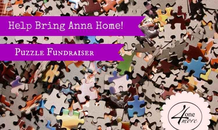 Help Bring Anna Home:  Ethiopia Adoption Puzzle Fundraiser