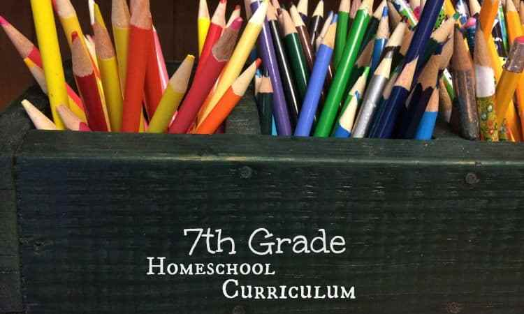 Homeschool Curriculum for 7th Grade