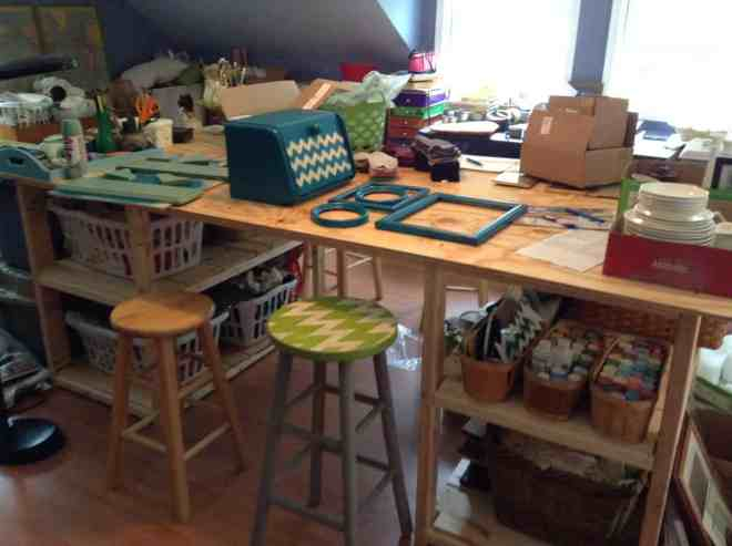 selling on etsy {my craft room} @4onemore.com
