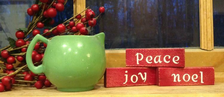 easy DIY Christmas blocks gift @4onemore.com