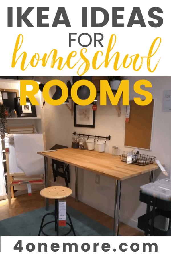 Ikea Ideas For Homeschool Rooms 4onemore
