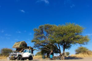 Central Kalahari Game Reserve - Camp @ Piper Pan