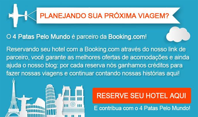 Reserve seu Hotel com a nossa parceira Booking.com!