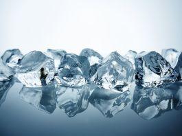 Eiskalte Eiswürfel
