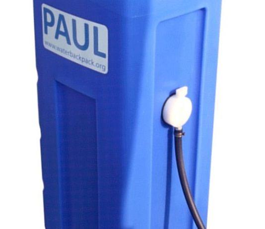 Wasserrucksack - Paul - Portable Aqua Unit for Lifesaving