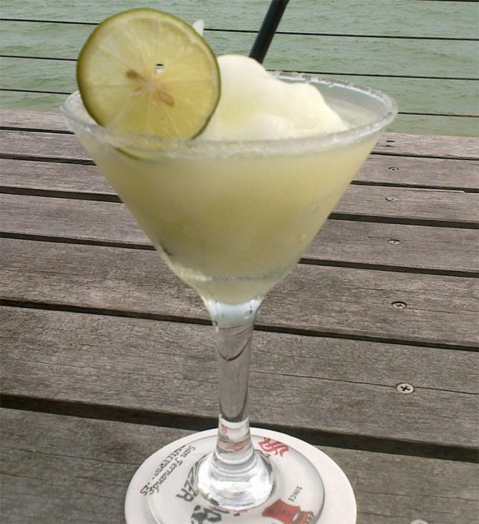Ein Virgin Margerita (alkoholfrei)
