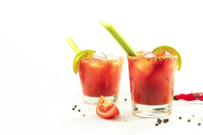 Alkoholfreier Bloody Mary