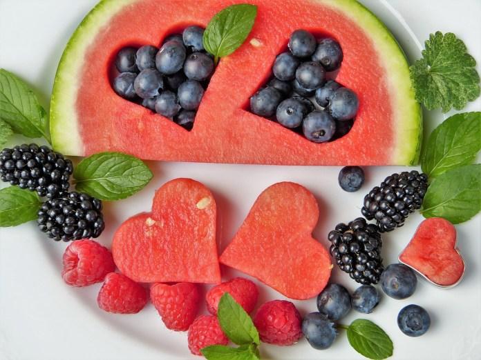 Obst mit wenig Fruchtzucker
