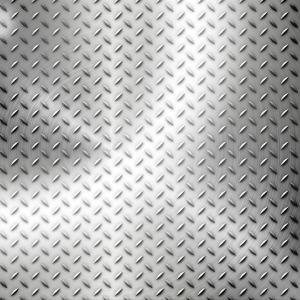 Fläche aus Aluminium