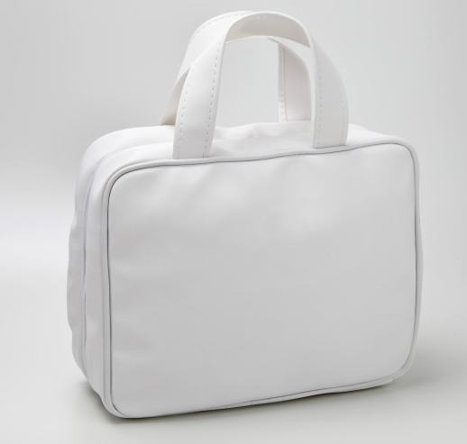 Kleiner weißer Koffer