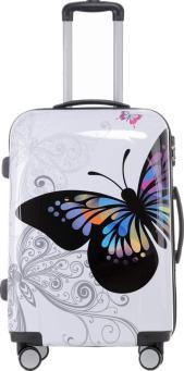 Koffer mit Schmetterling