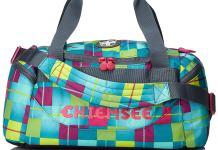 Eine farbenfrohe Sporttasche