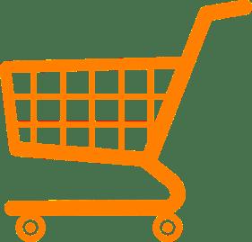 Zeichnung Einkaufswagen
