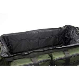 Innenraum einer Angeltasche