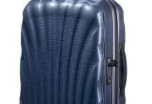 Blauer Hartschalenkoffer aus Curv