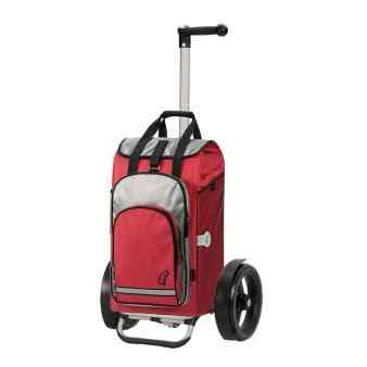 Roter Einkaufstrolley von Andersen