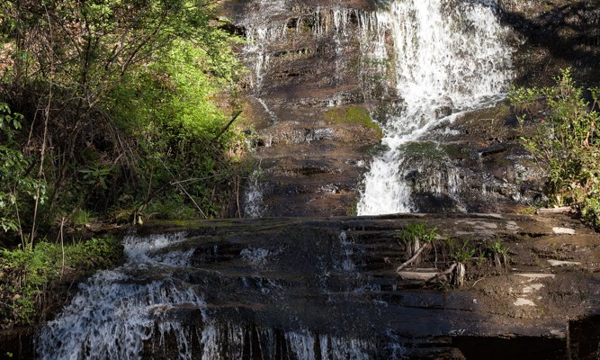 Indian Creek Falls, Smoky Mts