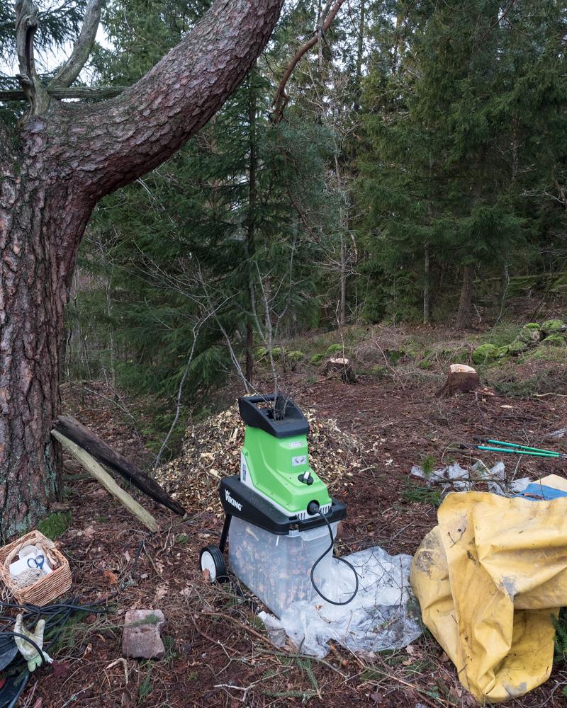 Föremålen - kompostkvarn min favorit