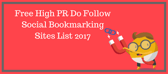 Dofollow Social Bookmarking Sites List