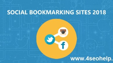 150+ Latest High DA Social Bookmarking Sites List 2018