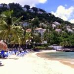 Beach at Windjammer Landing, St. Lucia