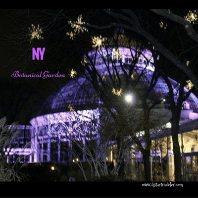 New York's Botanical Garden – Bar Car Night