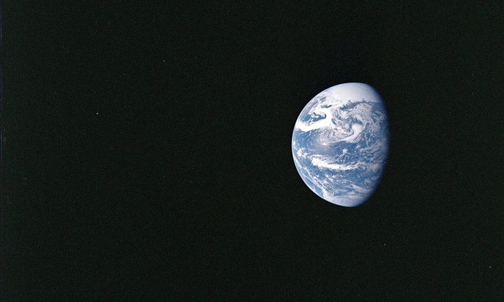 The world's population currently consumes the equivalent of 1.6 planets a year, according to analysis by the Global Footprint Network. Photograph: NASA