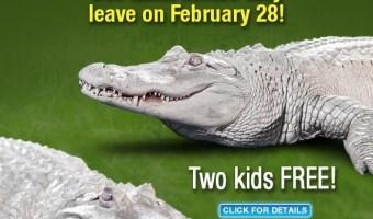 "Newport Aquarium Says ""Later"" To The Gators + 2 Kids FREE"
