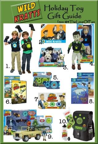 .@4TheLoveOfFam @WildKrattsOffic Wild Kratts Complete Holiday Toy Gift Guide #WildKratts #KrattBrothers #HolidayGiftGuide  #ActivateCreaturePower #ActivateCreaturePowers