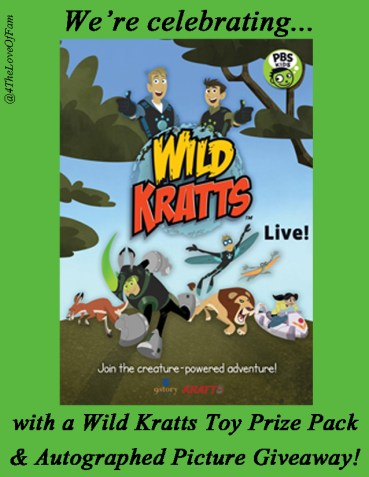 @4TheLoveOfFam : @WildKrattsOffic #WILDKRATTS Live Tour Giveaway Celebration!!