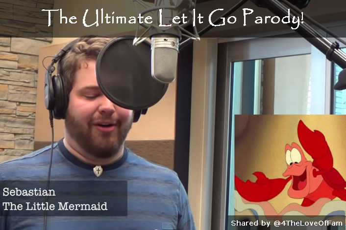 @4TheLoveOFFam shares #DIsney The Ultimate Let It Go Parody by Brian Hull