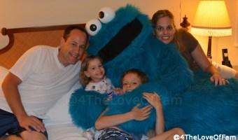 That Time Cookie Monster Knocked On Our Door…