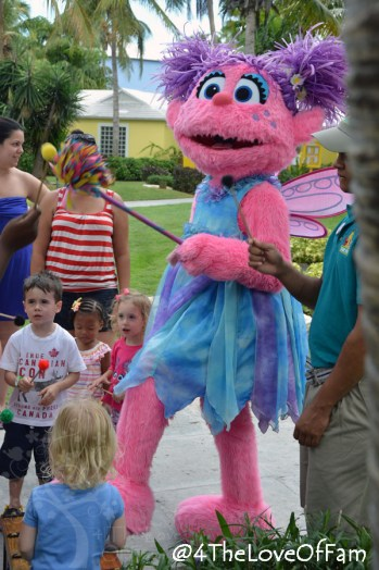 4 The Love Of Family ~ We hung out with Sesame Street on the Caribbean Beach at Beaches Resorts Turks and Caicos!!