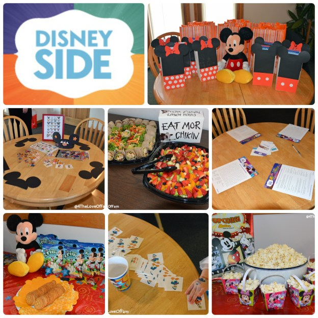 @4ThLoveOfFam - #DisneySide @ Home Celebration - 2015