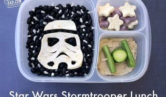 Star Wars Stormtrooper Bento Lunch from LunchBox Dad