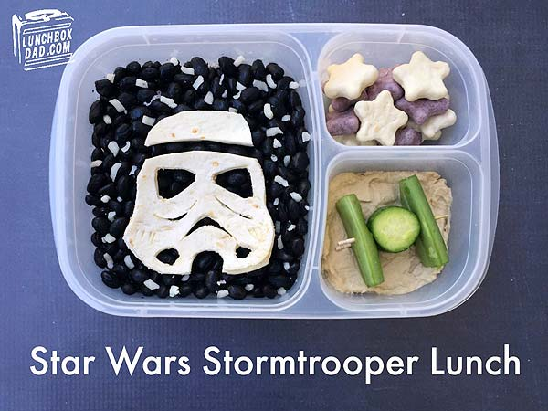 Celebrate Star Wars Day with this fun Bento idea from @LunchBoxDad