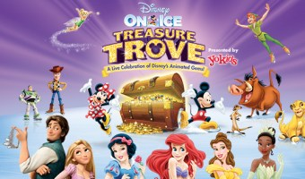 Disney On Ice Presents Treasure Trove In Cincinnati!