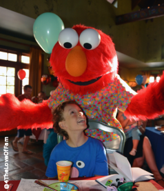 "Breakfast On Sesame Street?? Beaches Resorts' Sesame Street character breakfasts allow for a laid back time to ""hang out"" with the whole gang!"