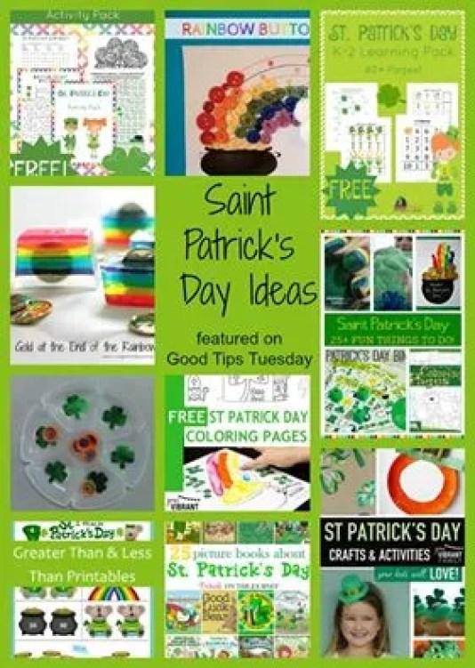 Saint Patrick's Day Ideas Round Up