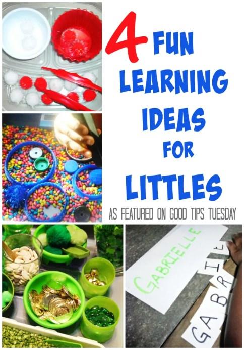 4 Fun Learning Ideas For Kids 4 Fun Learning Ideas For Littles GTT