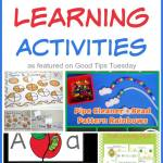 Preschool Learning Activities Round Up