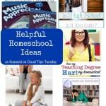 Helpful Homeschool Ideas