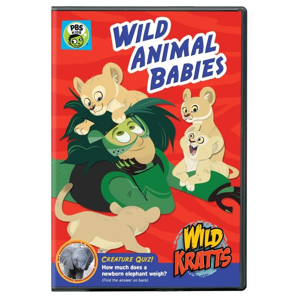 "New WILD KRATTS DVD: ""Wild Animal Babies"""