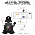 Printable Star Wars Story Cube Prompt