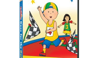 Caillou Goes For The Gold DVD Release