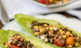 Easy, Delicious Corn & Lentil Salad Recipe