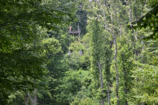 Adding Adventure To A Romantic Getaway In Hocking Hills, Ohio at Valley Zipline Tours