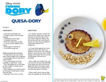 How yummy fun!!! Finding Dory Quesa-Dory Quesida Recipe