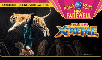 Farwell Tour Selling Out In Cincinnati: Ringling Bros & Barnum and Bailey Circus