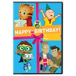 PBS Kids: Happy Birthday On DVD